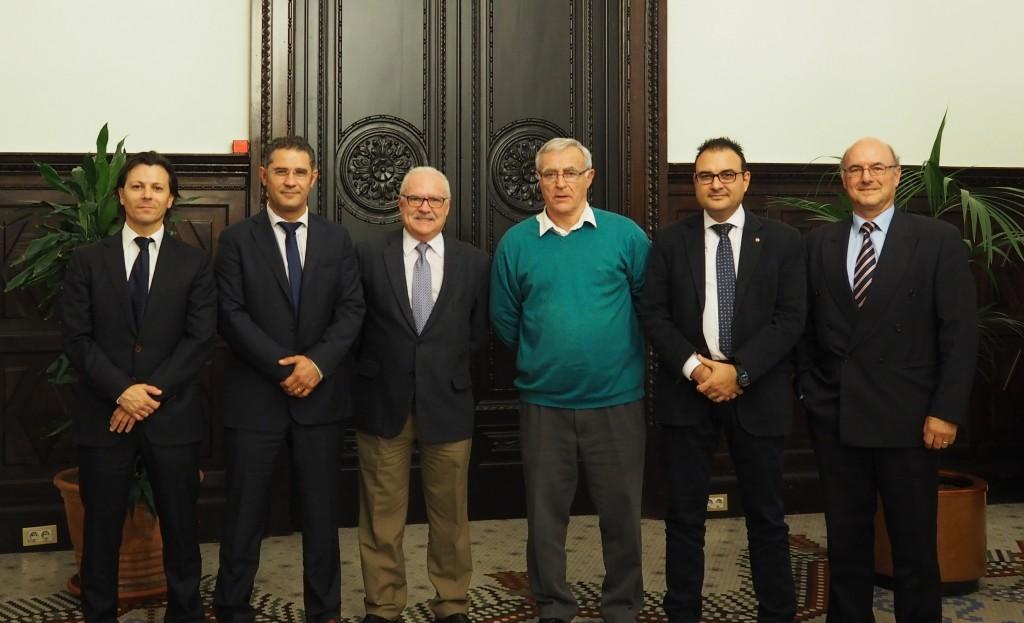 Visita al Sr. Alcalde de Valencia, D. Joan Ribó.